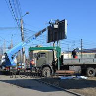 Демонтаж рекламных конструкций в Крыму